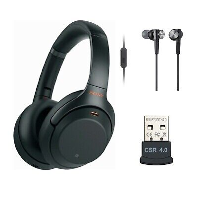 AU318 • Buy Sony WH-1000XM3 Wireless Noise Cancelling Headphones - Free Postage