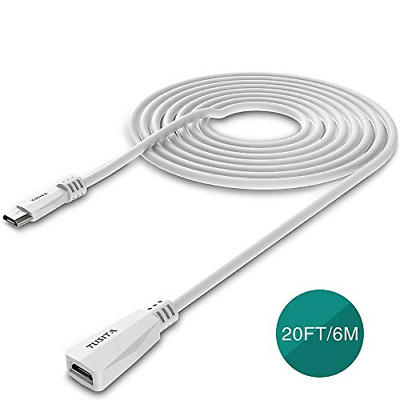 AU17.78 • Buy TUSITA Micro USB Power Extension Cable 6M - Male To Female Extender Cord For XT2