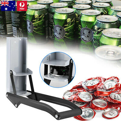 Beer Tin Can Crusher 16oz 500ml Wall Mounted Recycling Tool Bottle Opener Home • 7.99£