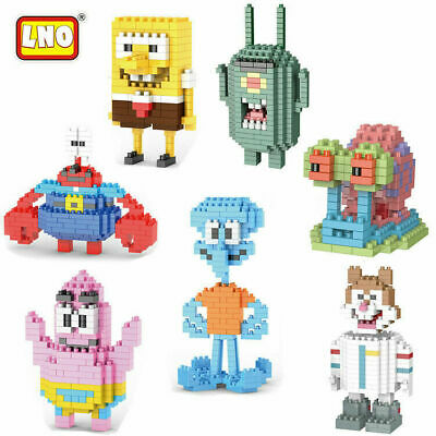 Patrick Star SpongeBob Squidward Movie Building Block Figure Fit Lego Toys Gifts • 5.50£