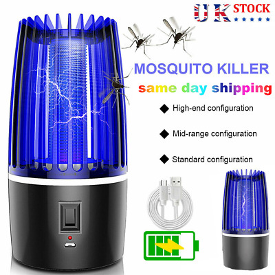 Electric Mosquito Killer Lamp Fly Bug Indoor UV Insect Zapper Pest Catcher • 13.99£