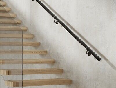£105 • Buy Rothley Stainless Steel Staircase Handrail Kit 3.6m Range Of Colours Int/Ext