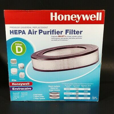 Honeywell Universal HEPA Air Purifier Filter HRF-D1 OPEN BOX • 20.37£