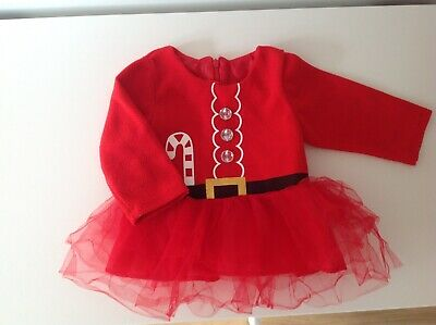 Baby Girls Christmas Dress Aged 12-18 Months • 3.50£