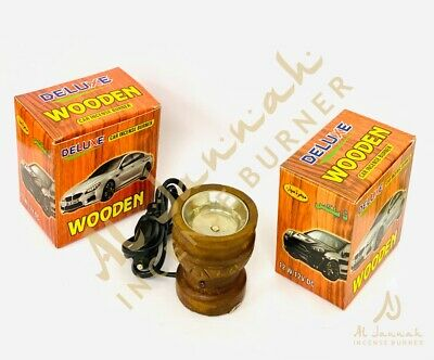 Car Plug In Bakhoor/resin/lobaan/oil & Oudh Burner. • 7.99£