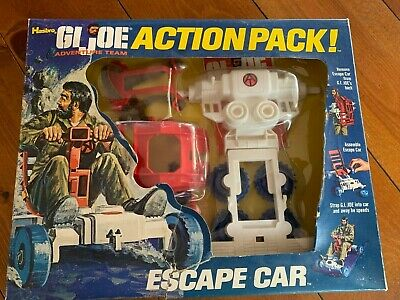 $ CDN311.23 • Buy 1970s GI Joe Adventure Team Action Pack Escape Car Complete W/box & Insert