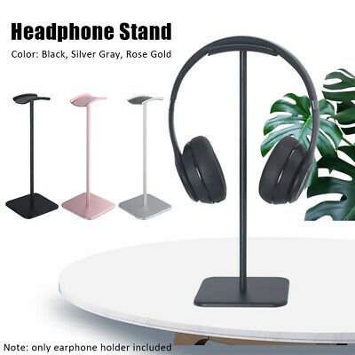 AU23.45 • Buy Universal Holder Headphone Stand Solid Base Non Slip Aluminum Alloy Detachable