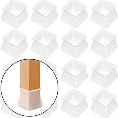 AU12.45 • Buy AU Furniture Protector Silicone Protection Cover Square For Chair Leg Protector