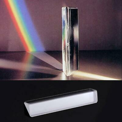 $3.08 • Buy K9 Optical Glass Right Angle Reflecting Triangular Prism Teaching Light Spectrum