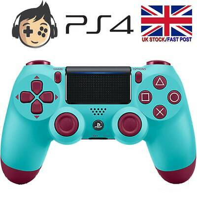 Berry Blue Wireless Gamepad Controller For Sony Playstation PS4 DualShock 4 UK • 23.78£