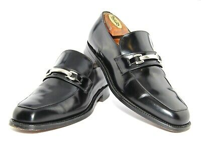 Mens Sanders Horsebit Loafers Shoes Made In England UK 8.5 US 9.5  Eu 42.5  £235 • 49.99£