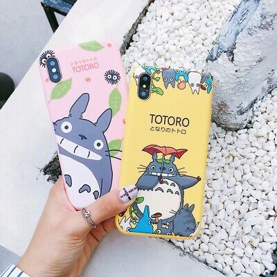 Cartoon My Neighbour Totoro Soft Case  For IPhone 11 Pro X Xs Max Matte Silicone • 6.97£