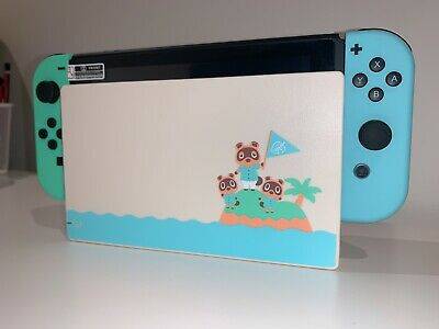 AU119.99 • Buy Nintendo Switch Dock Station ONLY - Limited Edition - Animal Crossing