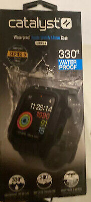 $ CDN39.47 • Buy Catalyst Waterproof Case And Band Apple Watch Series 5/4 44mm -Gray