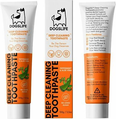 Dog Toothpaste | Natural For Dogs | Remove Plaque, Fight Decay &...  • 11.49£