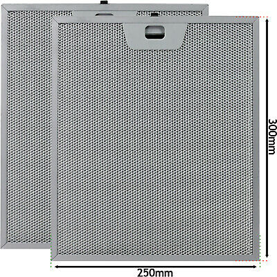 £35.99 • Buy Grease Filter For JOHN LEWIS TRICITY BENDIX Cooker Hood Vent 250mm X 300mm X 2