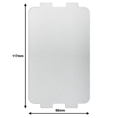 Breville Microwave Wave Guide Cover Wall Guard Plate 117 X 65mm • 5.95£