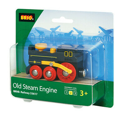 £11.49 • Buy BRIO 33617 Old Steam Engine Train Wooden Railway Rolling Stock Age 3 Years+
