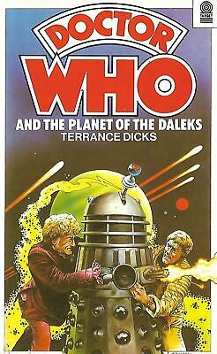 DOCTOR WHO<>PLANET OF THE DALEKS By TERRANCE DICKS<>TARGET PAPERBACK ~ • 3.88£