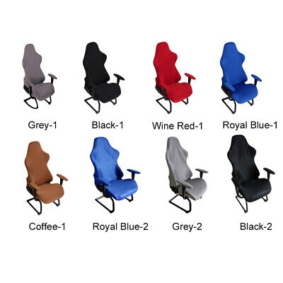 AU20.99 • Buy Spandex Chair Covers Computer Seats Gaming Elastic Office Armchairs Protector AU