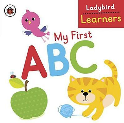 My First ABC: Ladybird Learners By , Good Used Book (Board Book) FREE & FAST Del • 2.39£