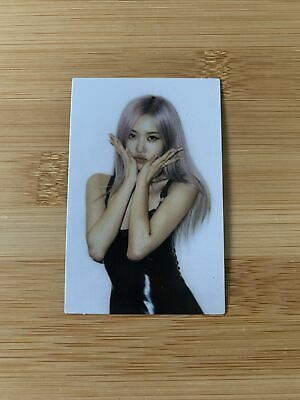 Kpop Blackpink Official Lovesick Girls The Album Rosé Photocard Polaroid • 8.95£