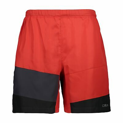 CMP Running Shorts One Trail Bermuda Red Breathable • 32.42£