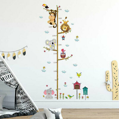 Children Height Stickers Wall Sticker For Kids Room Home Decoration Wall Post Fk • 4.26£