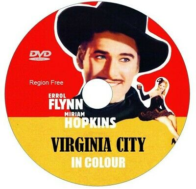 Virginia City (1940)   in Colour  Dvd • 4.99£