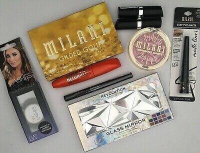 Makeup Bundle All Brand New Unopened Items Revolution, Milani And More • 4.20£