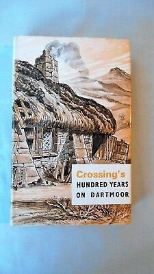 Book - Crossing's Hundred Years On Dartmoor 1967 Edition David & Charles Devon • 4.99£