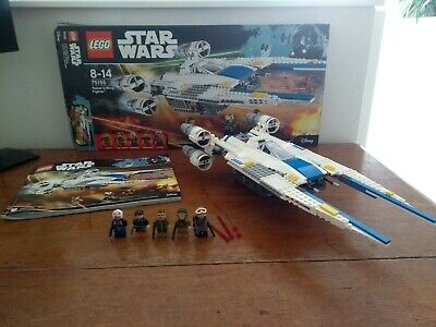 Lego Star Wars 75155 U-wing 100% Complete Set With Instructions And Box • 50£