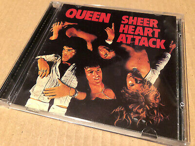 Queen Sheer Heart Attack 2011 Remastered Double Cd Nr Mint • 3.20£