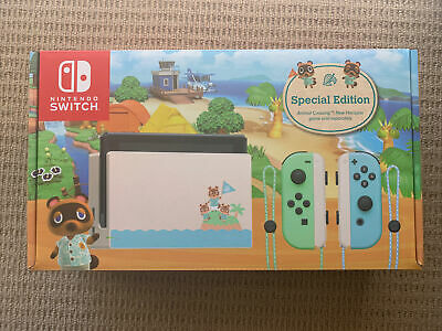 AU525 • Buy Nintendo Switch Animal Crossing New Horizons Special Edition Console - Brand New