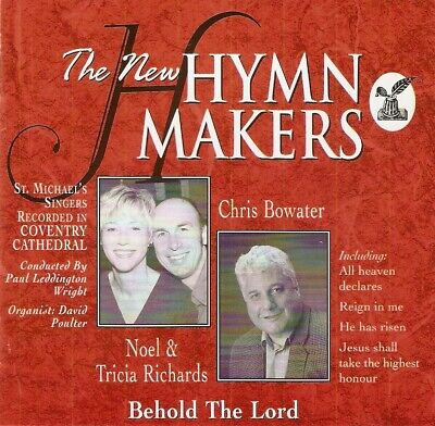 Noel  &Tricia Richards, Chris Bowater - The New Hymnmakers Vol. 2 (CD 1997) • 1.99£