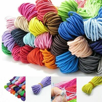 $ CDN15.30 • Buy 2mm Elastic Cord Stretch Eco Friendly Elastic Bands Rope Round Bracelets Making