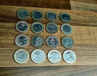 2 Pound Coin Job Lot 16x Commemorative Coins £2 Two Pound Collection #coinhunt • 34.99£