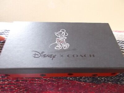 COACH Disney Mickey Mouse RePink Leather Purse Wallet- New In Box • 7.99£