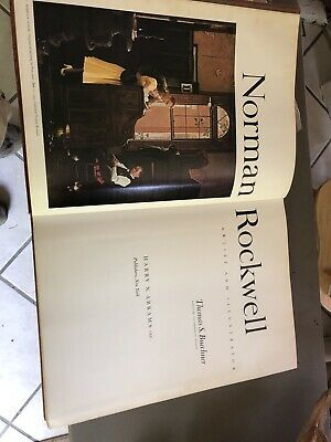 $ CDN10.46 • Buy NORMAN ROCKWELL ARTIST AND ILLUSTRATOR 1ST EDITION 1970 BOOK,No Dust Cover 13lb