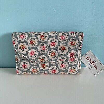 Cath Kidston Provence Rose Curve Wallet - New With Tag - Christmas  • 1.99£