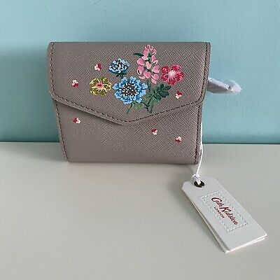 Cath Kidston Fawn Twilight Sprig Enverlope Wallet - New With Tag - Xmas • 1.99£