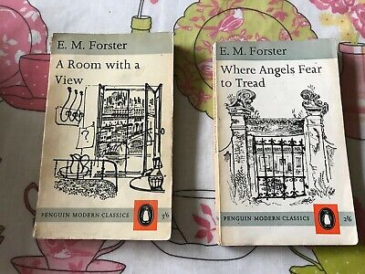 E M Forster's A Room With A View & Where Angels Fear To Tread-2 Penguin Moderns • 9.99£
