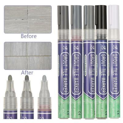 Home Tile Grout Whitening Pens Instant Repair Anti-mould Easy Refresh Restore • 3.29£