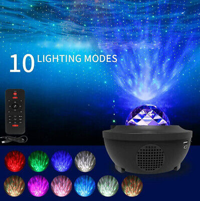 AU38.95 • Buy LED New Galaxy Starry Night Light Projector Ocean Star Sky Party Baby Room Lamp