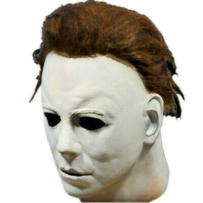 $ CDN23.62 • Buy Halloween Horror Michael Myers Killer Mask Cosplay Scary Latex Costume CA