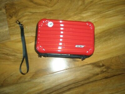 Rimowa Amenity Kit Travel Bag - Red- New - No Contents Inside - 7  X 4.5  • 20£
