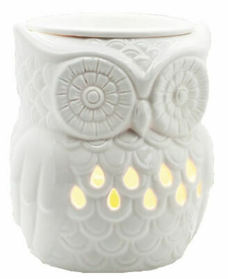 Airpure THE OWL Electric Wax Melt Oil Melter Burner With Backlight - White • 15.99£
