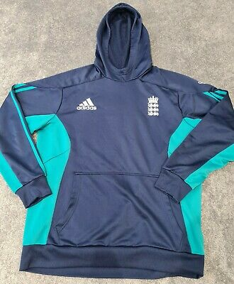 Mens England Cricket Hoodie Shirt Top By Adidas. Size XL • 21.70£