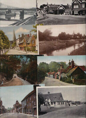 SUSSEX Brighton, Hastings Etc. - OLD POSTCARDS - 57 Cards - Sold Singly • 3£
