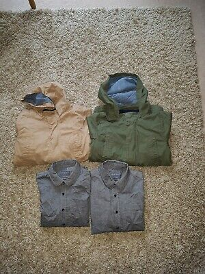 Twin Boys Jackets And Shirts. 7-8 Clothes Bundle. • 2.50£